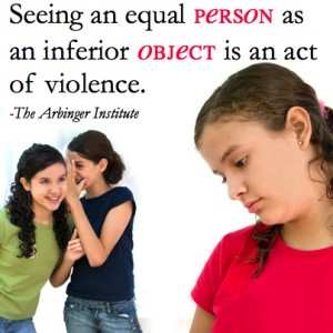 Person or Object Arbinger Institute Quote