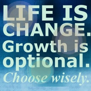 Life is change quote
