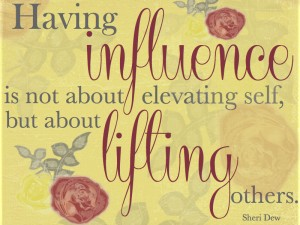 Sheri Dew Quote Influence