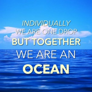 Together We Are An Ocean