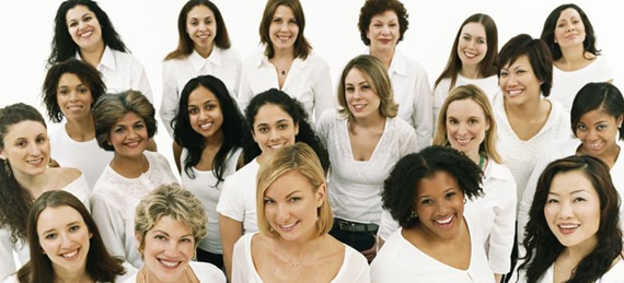 Group of Diverse Women