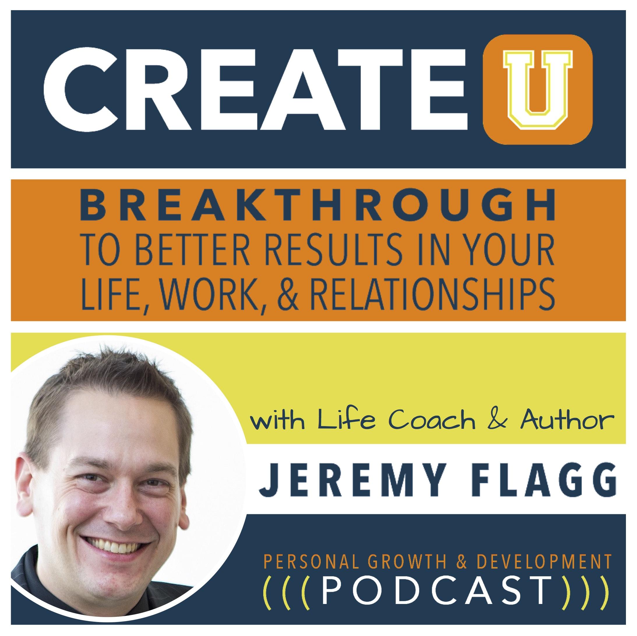 CREATE U Podcast Cover Art