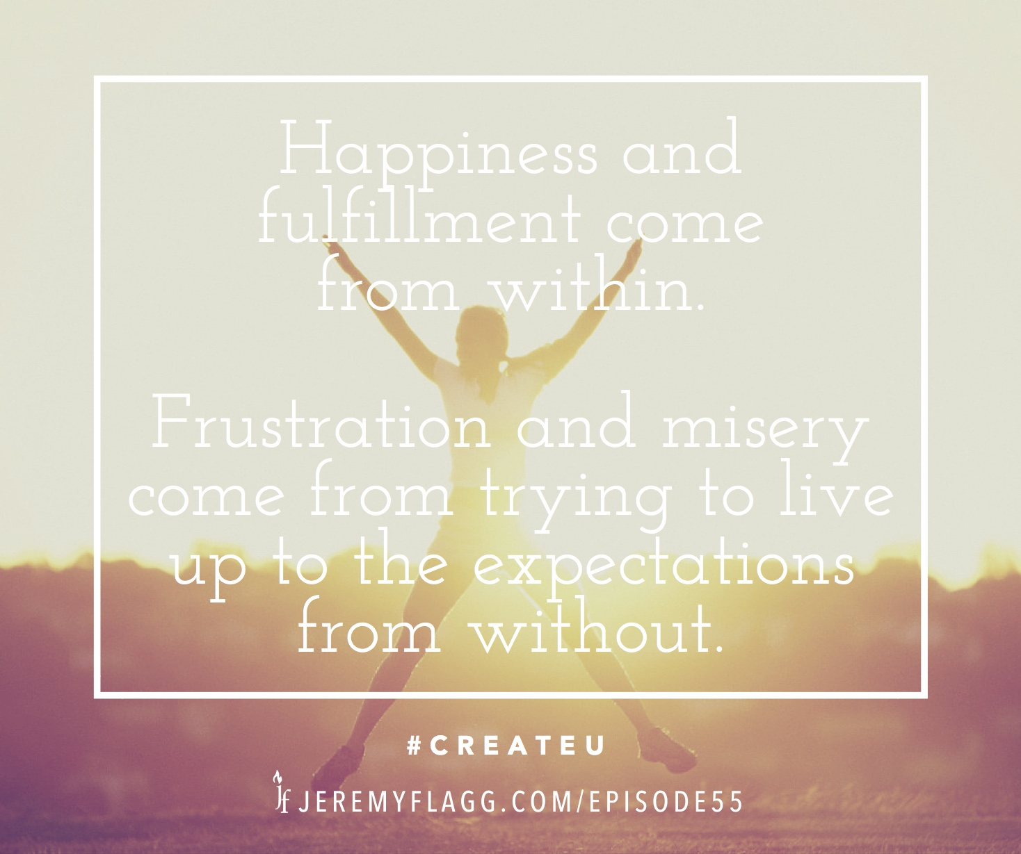 Happiness-comes-from-within-Jeremy-Flagg-quote-FB